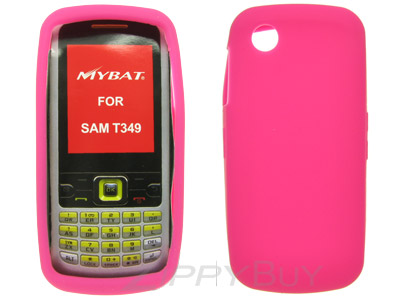 Samsung SGH-T349 Silicone Skin Cover Case - Hot Pink