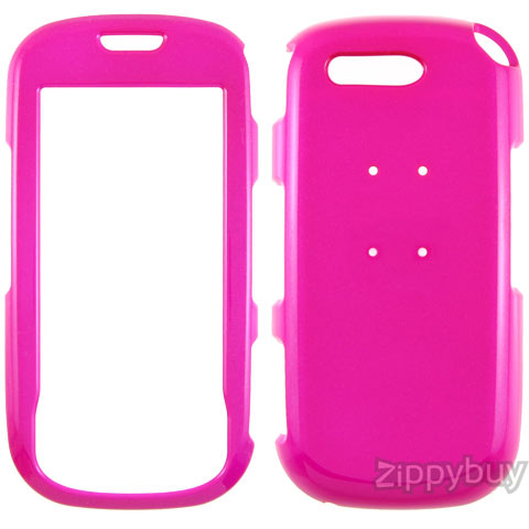 Samsung Highlight T749 Hard Cover Case - Hot Pink