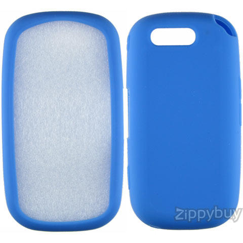 Samsung Highlight T749 Silicone Skin Cover - Blue