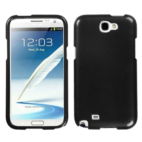 Carbon Fiber Hard Case for Samsung Galaxy Note II