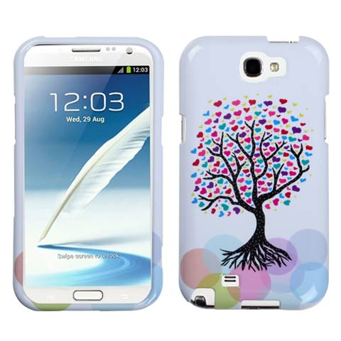 Love Tree Hard Case for Samsung Galaxy Note II
