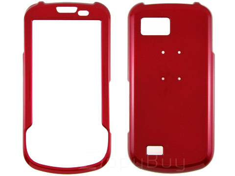 Samsung Behold II T939 Hard Cover Case - Red