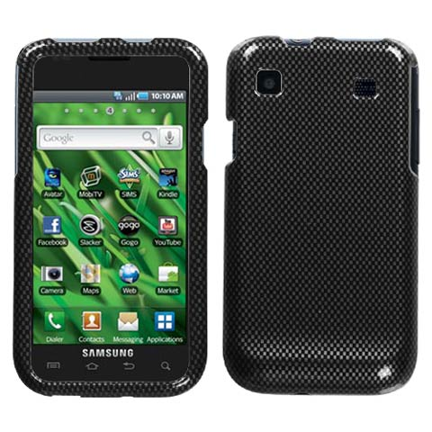 Carbon Fiber Hard Case for Samsung Galaxy S 4G