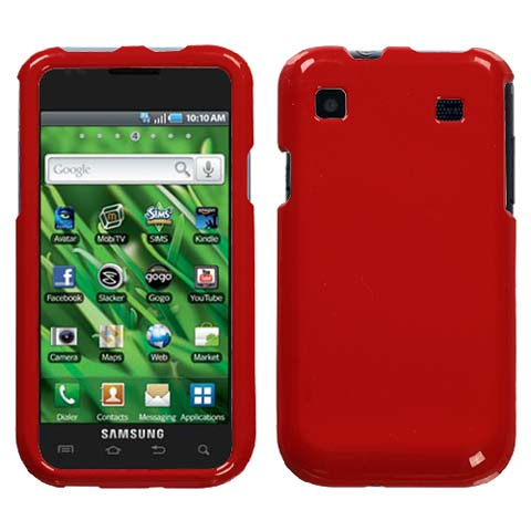 Red Hard Case for Samsung Galaxy S 4G