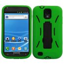 Green Dual Layer Hybrid Symbiois for Samsung Galaxy S II (T-Mobile)