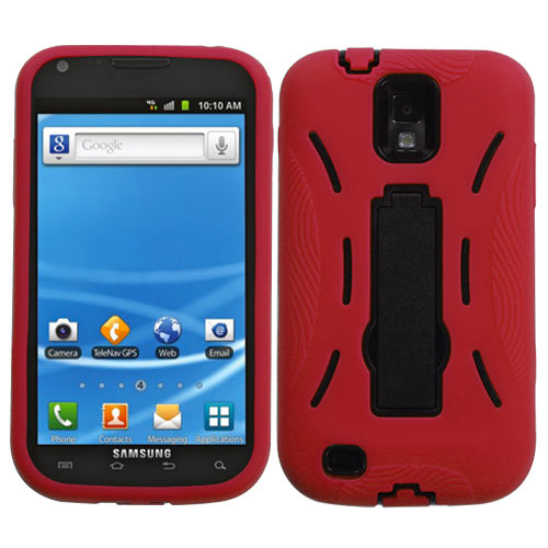 Red Dual Layer Hybrid Symbiois for Samsung Galaxy S II (T-Mobile)