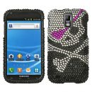 Pirate Skull Crystal Rhinestones Bling Case for Samsung Galaxy S II (T-Mobile)