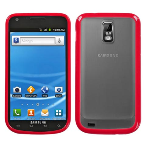 Red Fusion Case for Samsung Galaxy S II (T-Mobile)