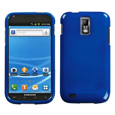 Blue Hard Case for Samsung Galaxy S II (T-Mobile)