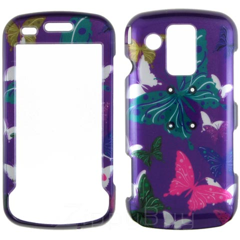 Samsung Rogue U960 Hard Cover Case - Butterflies
