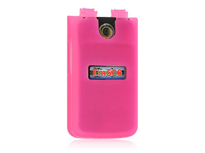 Sony Ericsson TM506 Silicone Skin Cover Case - Hot Pink