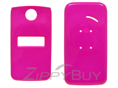 Sony Ericsson TM506 Hard Cover Case - Hot Pink