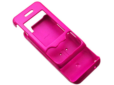 Sony Ericsson W580i Snap On Faceplate Case (Hot Pink)