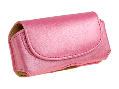 LG TRAX CU720 Leather Wristlet Case (Pink)