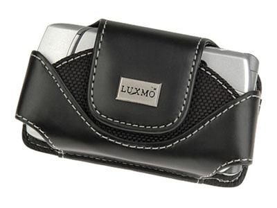 Primo Leather Case for LG TRAX CU575 (Black)