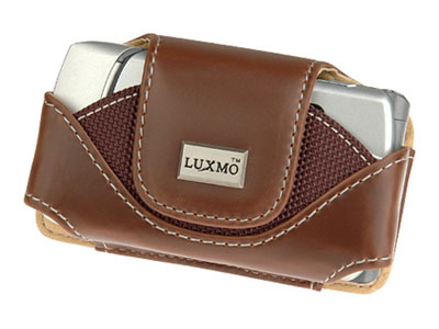 Primo Leather Case for LG TRAX CU575 (Brown)