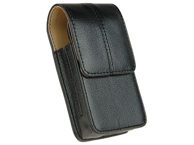 Classic Leather Case for LG Rumor (Black)