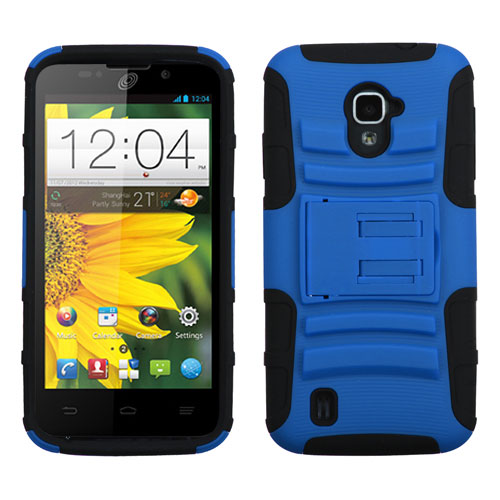 Blue Armor Dual Layer Hybrid Case for ZTE Source