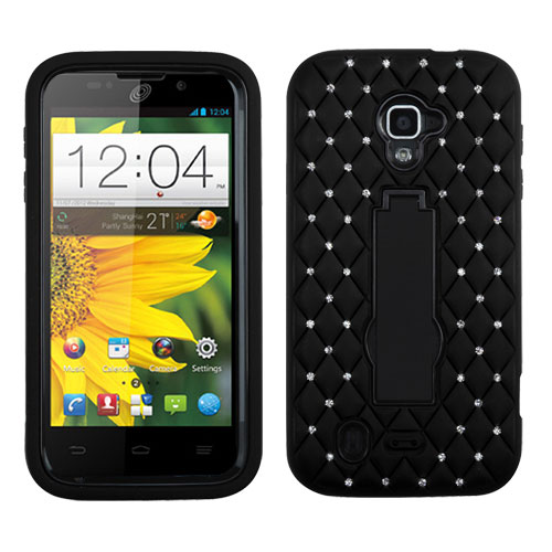 Black Diamond Symbiosis Dual Layer Hybrid Case for ZTE Source
