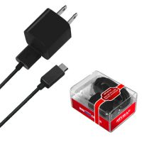 Black Mini Micro USB Home / Travel Charger for Samsung Mythic