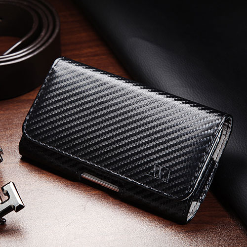 Carbon Fiber Series Pouch for Samsung Galaxy S10