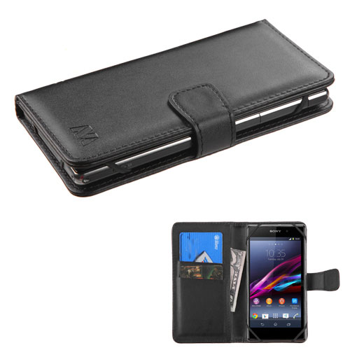 Black Exec Series Wallet for Motorola Moto G6