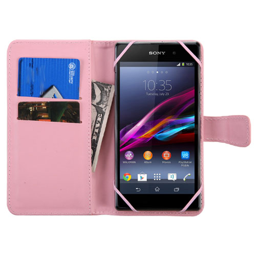 Pink Exec Series Wallet for Samsung Galaxy J7 (2018)