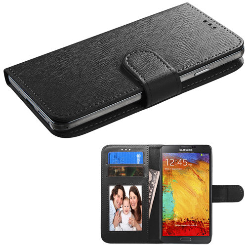Black Slider Wallet for Motorola Moto G6