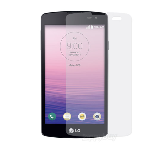 2x Multi-Pack Crystal Clear Screen Protectors for LG Optimus F60