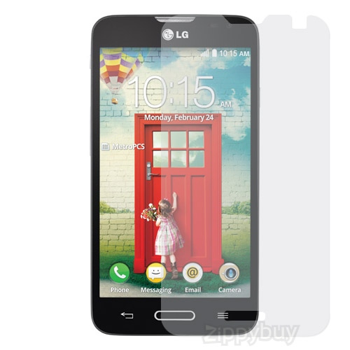2x Multi-Pack Crystal Clear Screen Protectors for LG Optimus L70