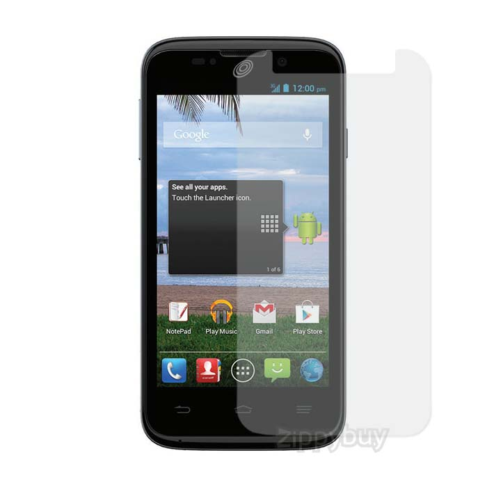 Anti-Glare Smudge Resistant Screen Protector for ZTE Majesty