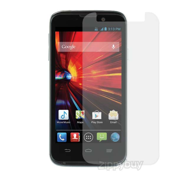 Anti-Glare Smudge Resistant Screen Protector for ZTE Source